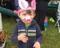 little boy in a costume at 2019 Agri-Palooza