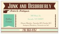 Junk and Disorderly Arts & Antiques